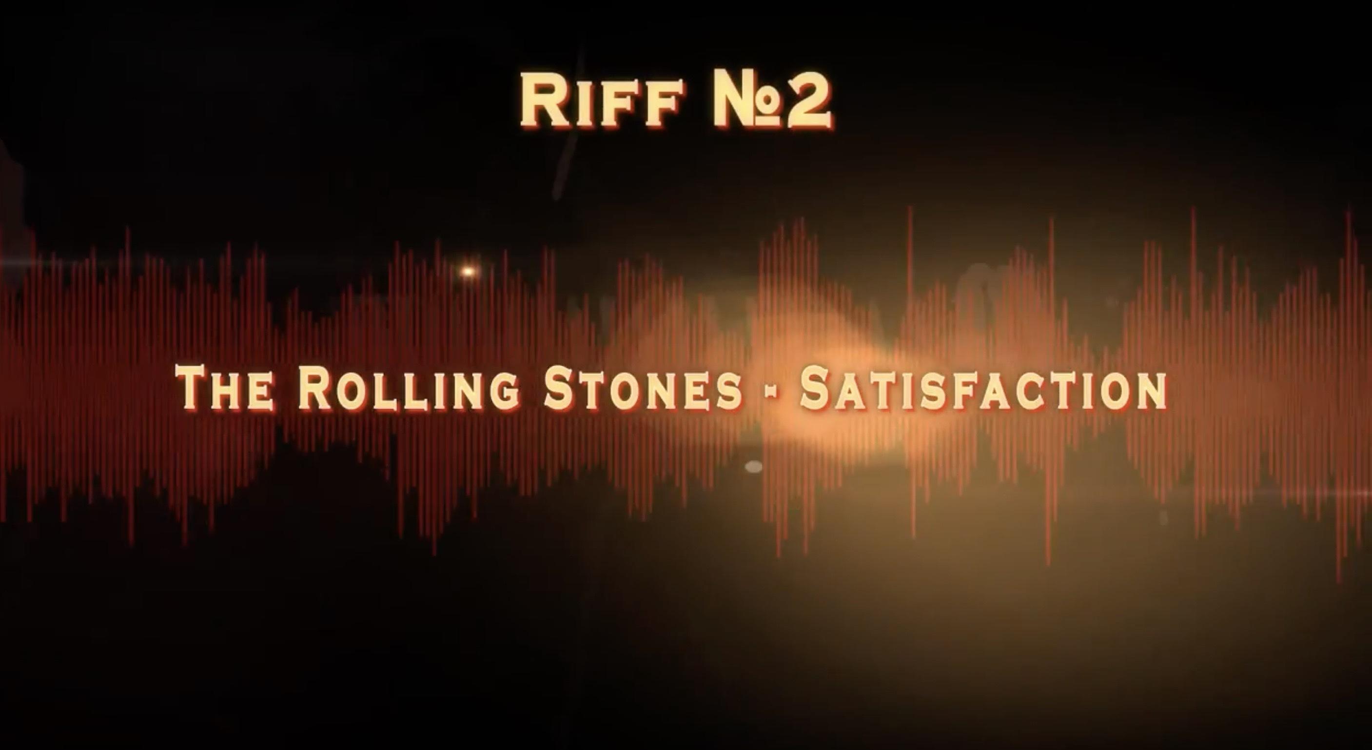Как играть Satisfaction Rolling Stones