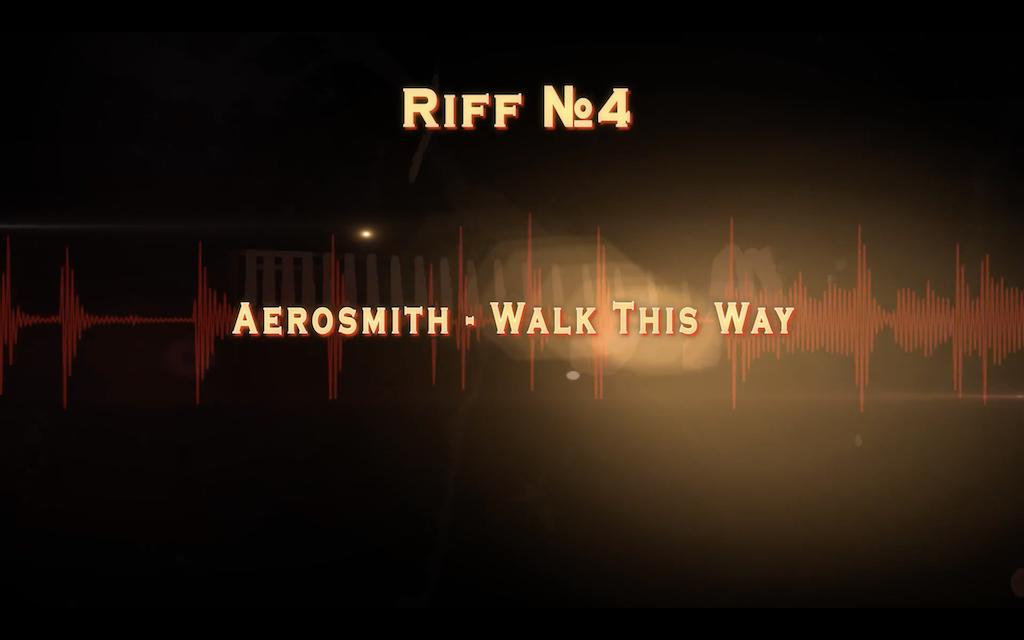 Walk this way от Aerosmith